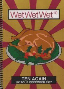 Wet Wet Wet Tour Itinerary