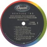 The Beatles '65 label