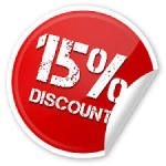 Get 15% discount with voucher code EB151014