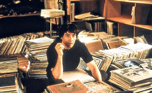 Lost in music: John Cusack in the film adaptation of 'High Fidelity'