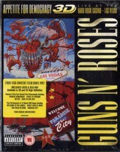 GUNS N ROSES Appetite For Democracy: Live At The Hard Rock Casino - Las Vegas