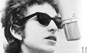 Bob Dylan before his motorbike crash.