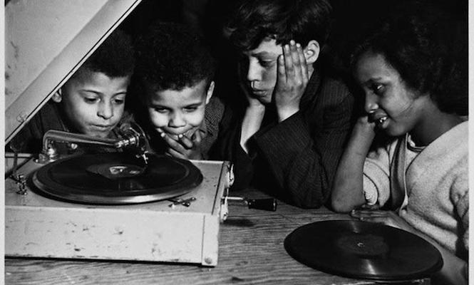 Listening-to-vinyl