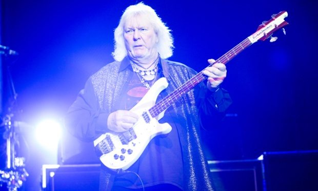 Mandatory Credit: Photo by REX Shutterstock (2252467ag) Yes - Chris Squire Yes in concert, Sands Casino, Bethlehem, Pennsylvania, America - 07 Apr 2013