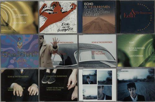 Echo++The+Bunnymen+Quantity+of+22+CD+Singles+634164