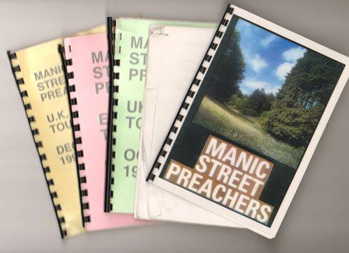 Manic+Street+Preachers+Quantity+of+Five+1996+Tour+Iti+640934