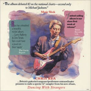 """Dancing With Strangers 12"""" Sampler from 1987"""