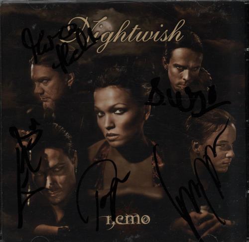 Nightwish+Nemo+-+Autographed+643747