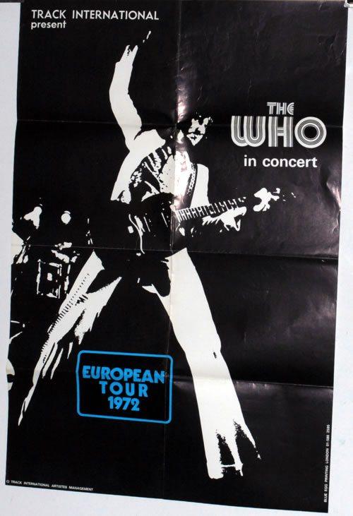 The+Who+European+Tour+1972+588814