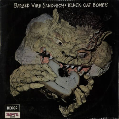 Black+Cat+Bones+Barbed+Wire+Sandwich+-+1st+-+V+606534