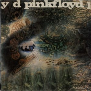 A Saucerful Of Secrets 1968 UK first export release of the 7-track stereo LP on the Odeon label