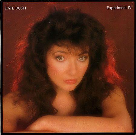 "Experiment IV UK 7"" vinyl test pressing, one label plain white, one plain silver."