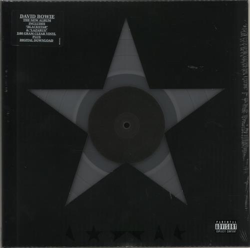 David+Bowie+Blackstar+-+180gm+Clear+Vinyl+646786