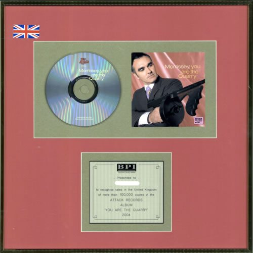 Morrissey+You+Are+The+Quarry+608246