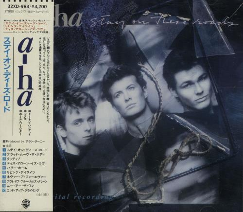 A-Ha+Stay+On+These+Roads+Inc+Offica+108987