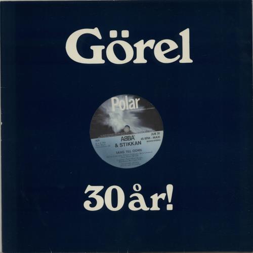 Abba+Sang+Till+Gorel+-+Blue+Vinyl+654249