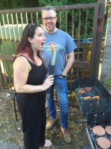Cheryl undertaking quality control