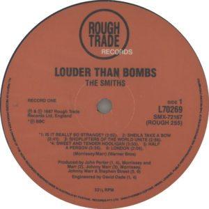 The Smiths Louder Than Bombs - 1987 Australian 24-track double vinyl LP