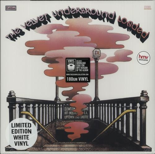 Velvet+Underground+Loaded+-+White+Vinyl++Sealed+656986