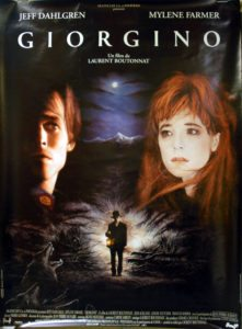 Giorgino - Stunning, original, and very rare Polydor 1994 French promotional only billboard poster for the movie with music by Laurent Botonna
